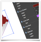 Drawing SVG Effects UI