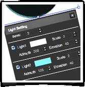 Logo Creator Light Effects SVG