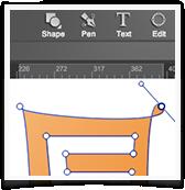 Logo Creator Freehand Tools UI