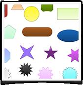 Logo Creator Shape Tools UI