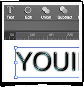 Logo Creator Text Editor UI